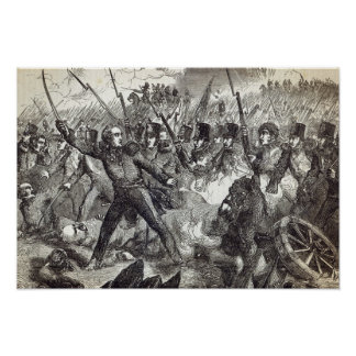 The Battle of Alma Poster
