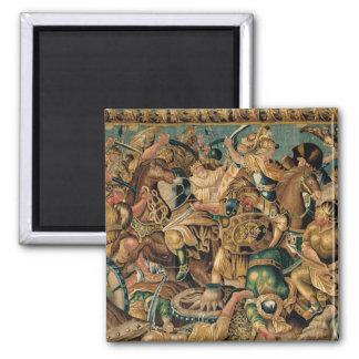 The Battle of Arbelles in 333 BC Aubusson Fridge Magnets