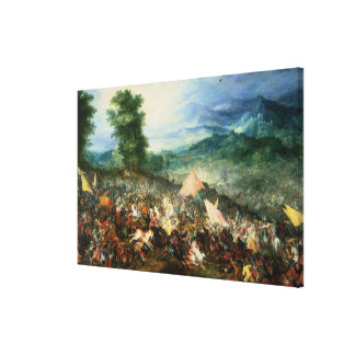 The Battle of Arbelles, or the Battle of Issus, 16 Canvas Print