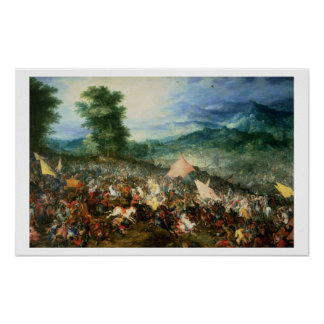 The Battle of Arbelles, or the Battle of Issus, 16 Poster
