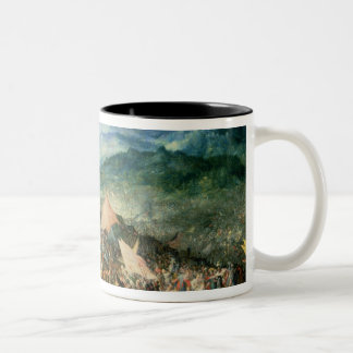 The Battle of Arbelles, or the Battle of Issus, 16 Two-Tone Coffee Mug