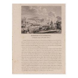 The Battle of Austerlitz, 2nd December 1805 Postcard