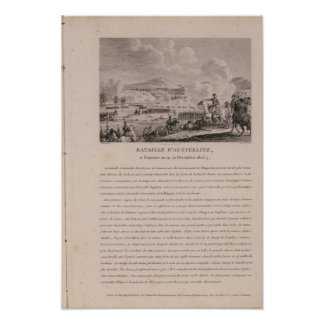 The Battle of Austerlitz, 2nd December 1805 Poster
