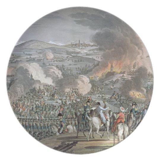 The Battle of Austerlitz, December 2nd 1805 (colou Dinner Plate