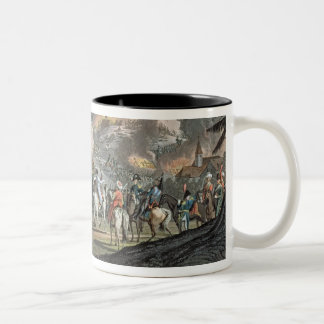 The Battle of Austerlitz, December 2nd 1805 (colou Two-Tone Coffee Mug