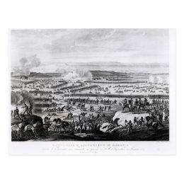 The Battle of Austerlitz in Moravia Postcard