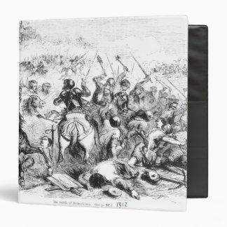 The Battle of Bannockburn in 1314 3 Ring Binder