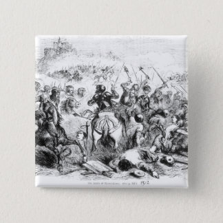 The Battle of Bannockburn in 1314 Button