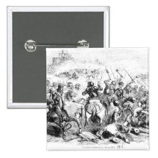 The Battle of Bannockburn in 1314 Button
