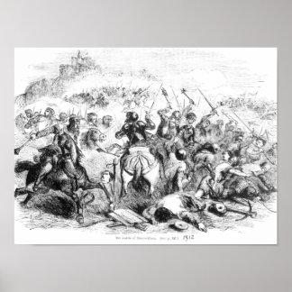 The Battle of Bannockburn in 1314 Poster