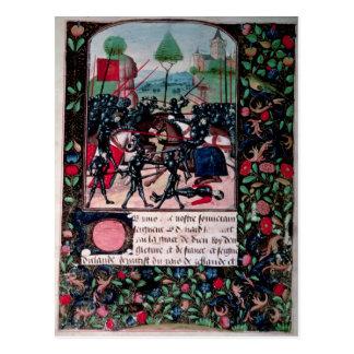 The Battle of Barnet, 1471 Postcard