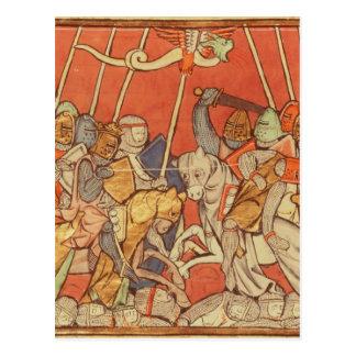 The Battle of Bedigran Postcard