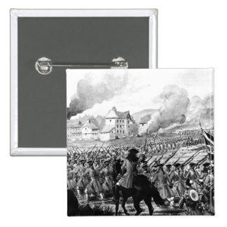 The Battle of Blenheim in 1704 Pinback Buttons