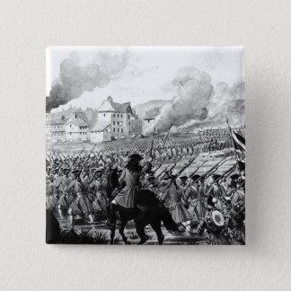The Battle of Blenheim in 1704 Pinback Button