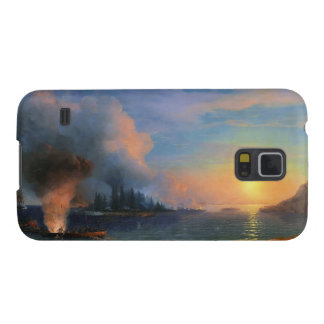 The Battle of Bomarsund Ivan Aivazovsky seascape Cases For Galaxy S5