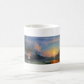 The Battle of Bomarsund Ivan Aivazovsky seascape Coffee Mug