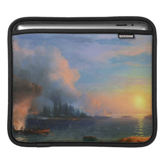 The Battle of Bomarsund Ivan Aivazovsky seascape Sleeves For iPads
