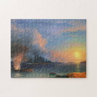 The Battle of Bomarsund Ivan Aivazovsky seascape Puzzle