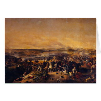 The Battle Of Borodino By Hess Peter Von Greeting Card