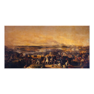The Battle Of Borodino By Hess Peter Von Photo Card