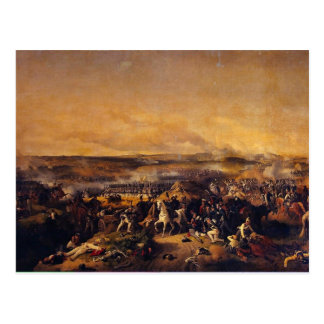The Battle Of Borodino By Hess Peter Von Postcard