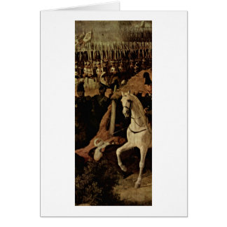 The Battle Of Borodino Detail By Peter Von Hess Greeting Card