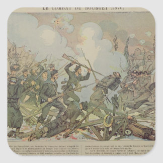 The Battle of Bourget , 1887 Sticker