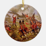 The Battle of Bunker Hill by E. Percy Moran Christmas Tree Ornaments