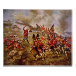 The Battle of Bunker Hill by E. Percy Moran Poster