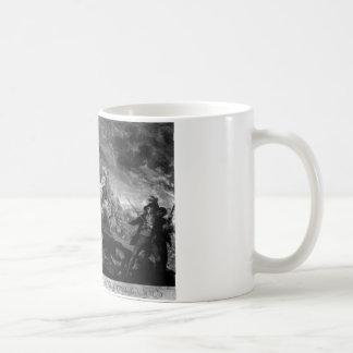 The Battle of Bunker's Hill, near Boston_War Image Coffee Mug