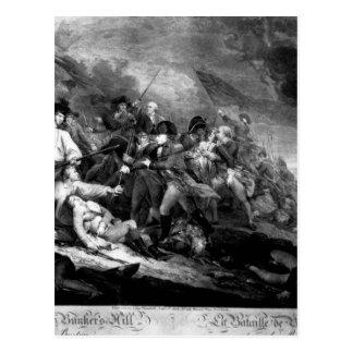 The Battle of Bunker's Hill, near Boston_War Image Postcard