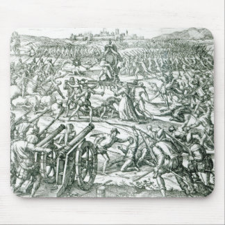 The Battle of Cajamarca, 1532 Mouse Pad