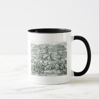 The Battle of Cajamarca, 1532 Mug