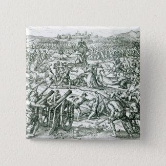 The Battle of Cajamarca, 1532 Pinback Button