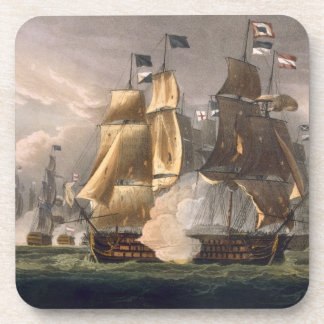 The Battle of Cape St. Vincent, February 14th 1797 Beverage Coaster