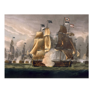 The Battle of Cape St. Vincent, February 14th 1797 Postcard