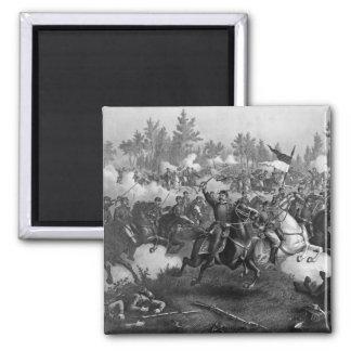 The Battle of Cedar Creek 2 Inch Square Magnet