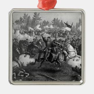 The Battle of Cedar Creek Metal Ornament