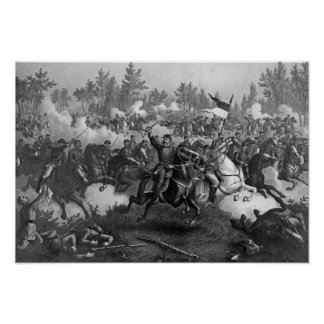 The Battle of Cedar Creek Poster