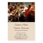 The Battle of Centaurs and Lapiths Business Card Templates