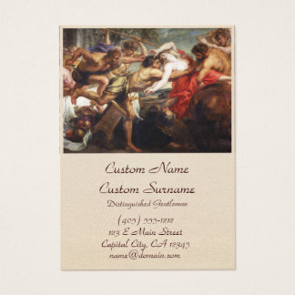 The Battle of Centaurs and Lapiths Business Card