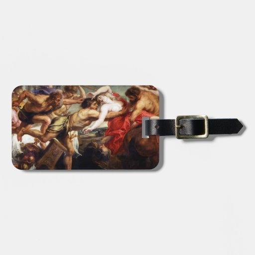The Battle of Centaurs and Lapiths Travel Bag Tags