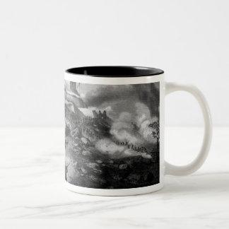 The Battle of Chapultepec Two-Tone Coffee Mug