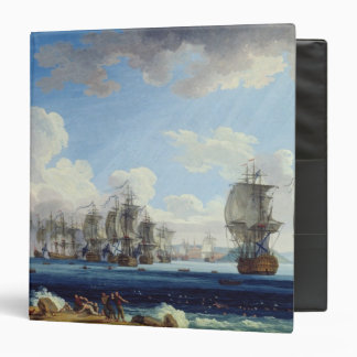 The Battle of Chesma on the 5th July 1770 3 Ring Binder