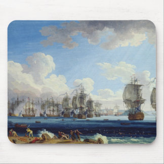 The Battle of Chesma on the 5th July 1770 Mouse Pad