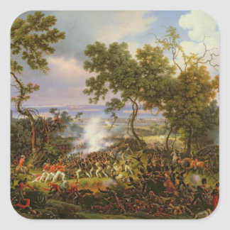 The Battle of Chiclana, 5th March 1811, 1824 Square Sticker