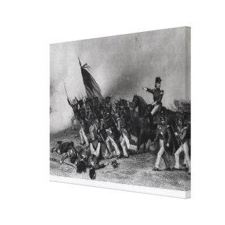 The Battle of Chippewa Canvas Print