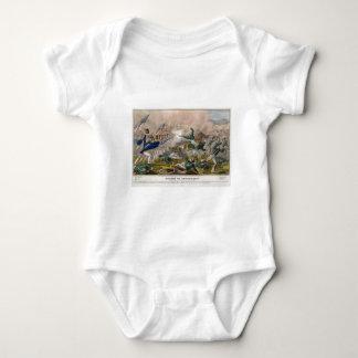 The Battle of Churubusco by J. Cameron Baby Bodysuit