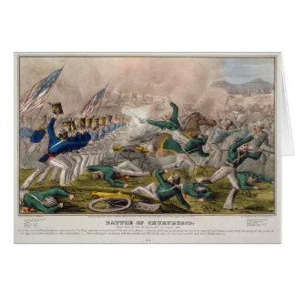 The Battle of Churubusco by J. Cameron Card