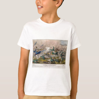 The Battle of Churubusco by J. Cameron T-Shirt